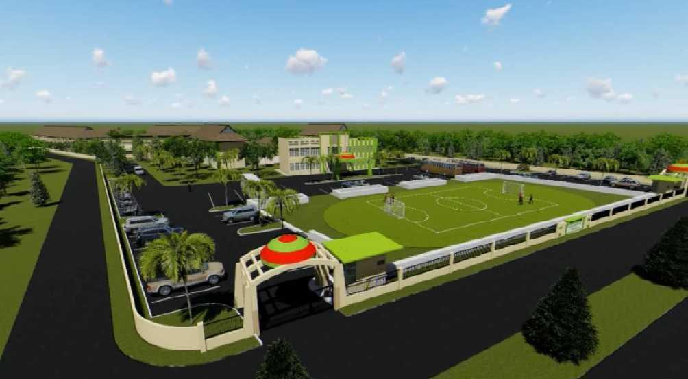 Foto inspirasi ide desain gym southwestern B oleh Aristokrasi Prima Rivan Consultan di Arsitag