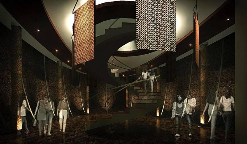 Foto inspirasi ide desain tangga kontemporer Interior-3 oleh Julio Julianto di Arsitag