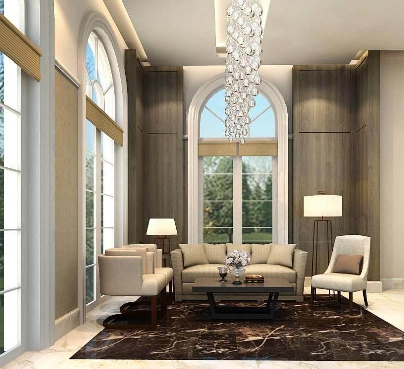 Foto inspirasi ide desain lobby modern Lobby office oleh Rieska Achmad di Arsitag
