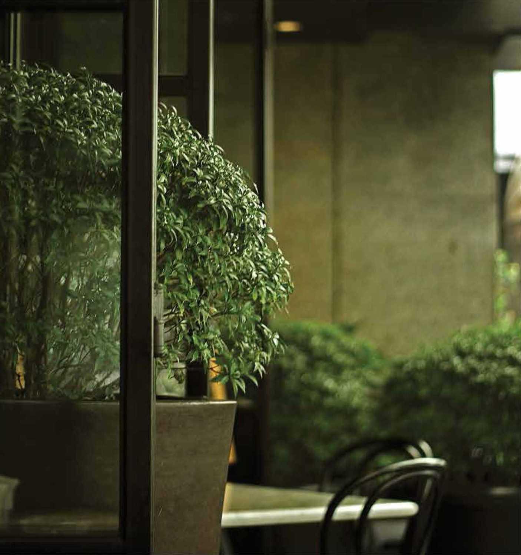 Foto inspirasi ide desain restoran Exterior plant oleh Platform Architects di Arsitag