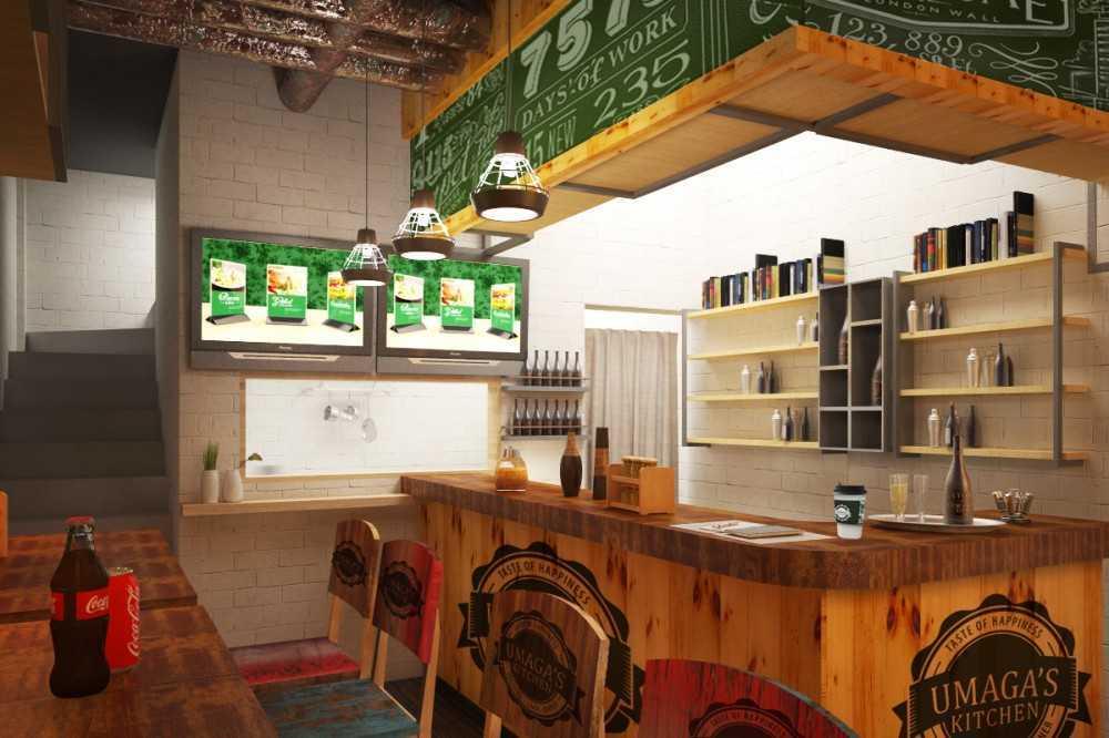 Foto inspirasi ide desain restoran asian Bar-area oleh ABOV Architect & Construction di Arsitag