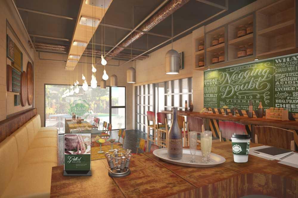 Foto inspirasi ide desain ruang makan asian Eating-area oleh ABOV Architect & Construction di Arsitag