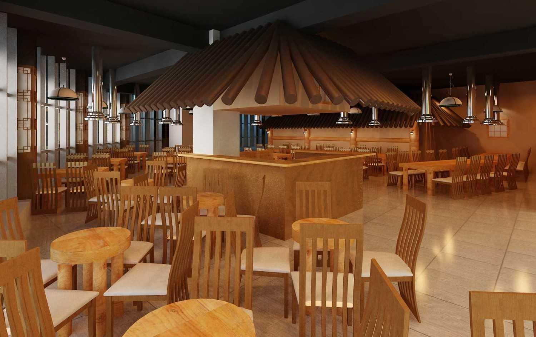 Foto inspirasi ide desain ruang makan asian Dining area oleh Yohanes Khouw di Arsitag
