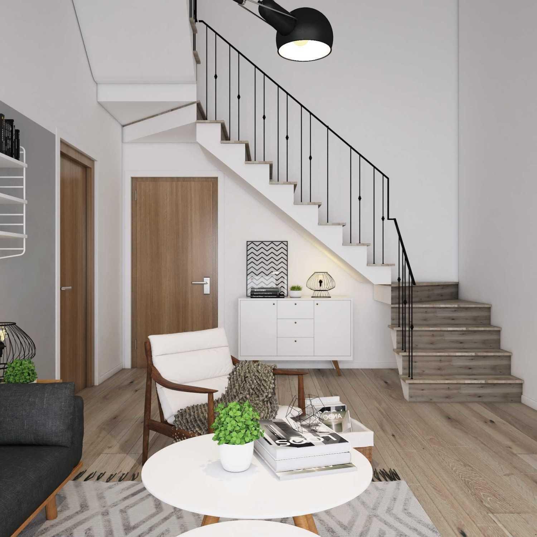 Foto inspirasi ide desain ruang keluarga skandinavia Living area oleh La.casa di Arsitag