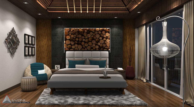 Foto inspirasi ide desain kamar tidur tradisional Master-bedroom-2-rev oleh Evonil Architecture di Arsitag