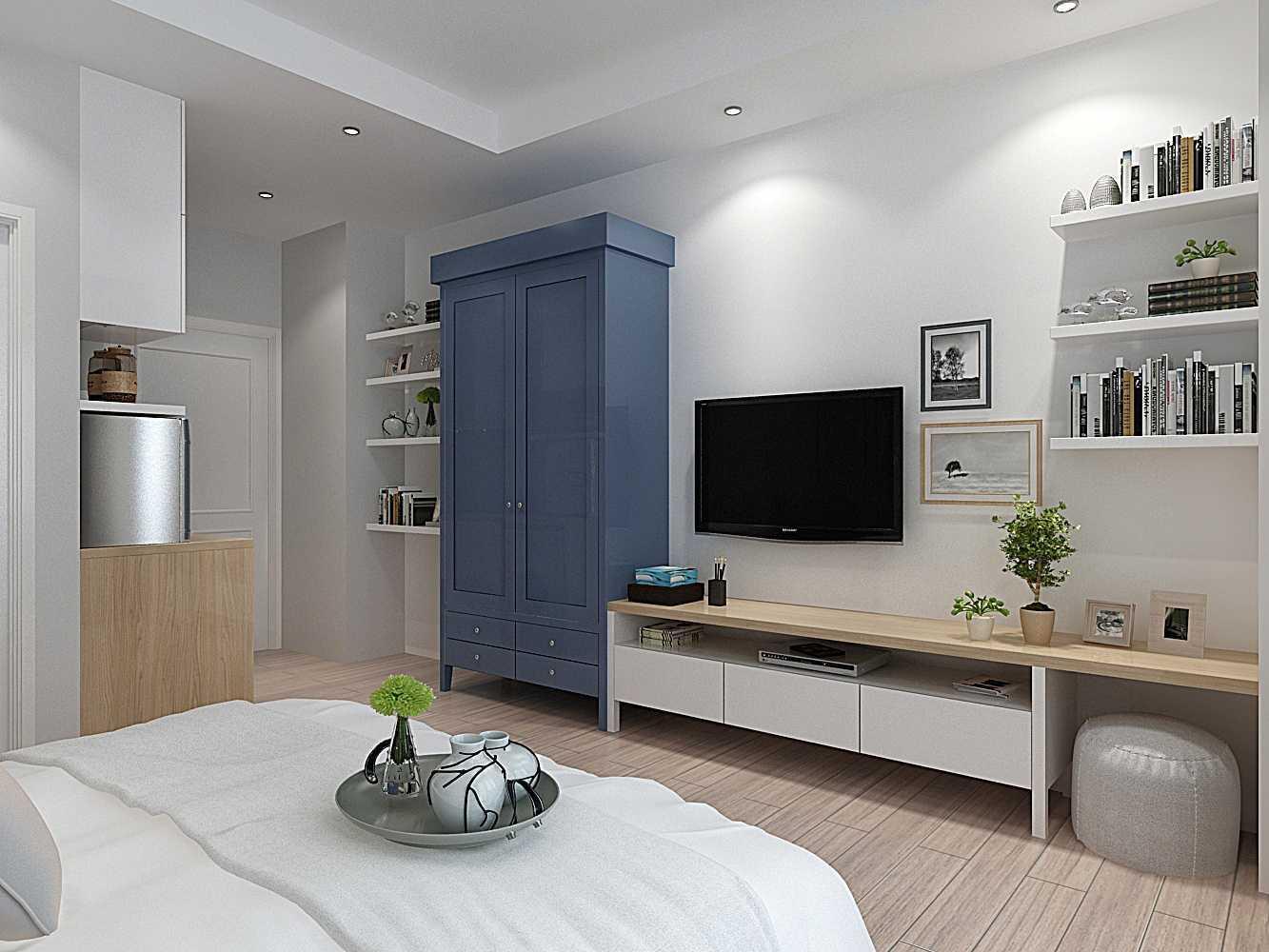 Foto inspirasi ide desain ruang keluarga skandinavia V2-4-011492687066341 oleh 7Design Architect di Arsitag