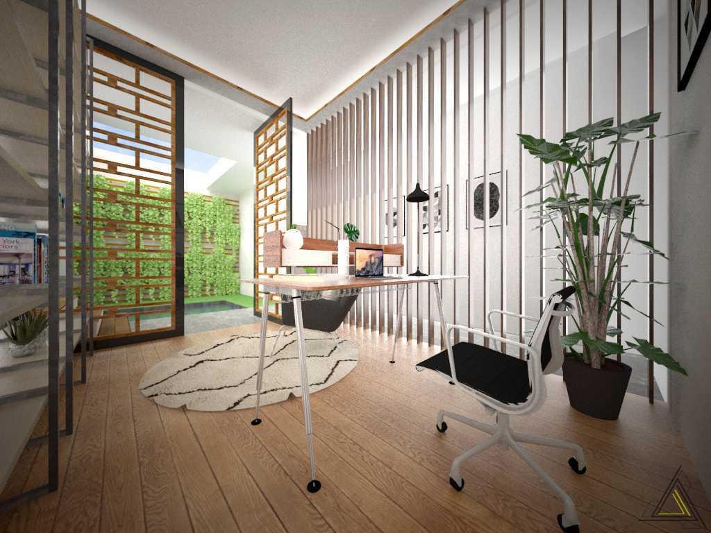 Foto inspirasi ide desain ruang belajar Study room oleh DAP Studio di Arsitag