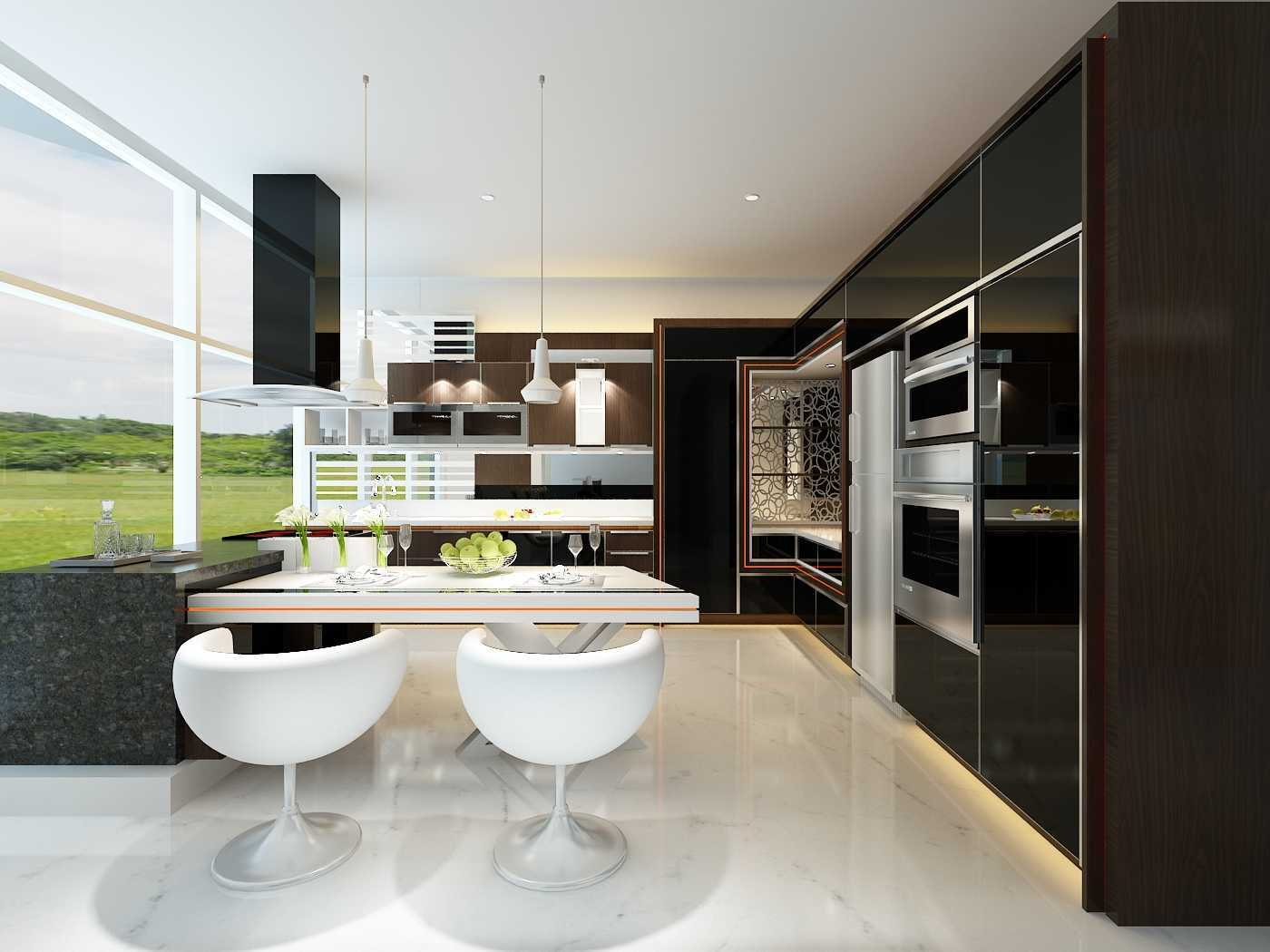 image modern kitchen. Grande Furniture Interior Architecture Modern Kitchen Alam Sutera Kitchen-Set-1 30002 Image