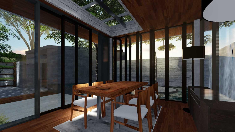 Foto inspirasi ide desain ruang meeting tropis Meeting room oleh Samitrayasa Design di Arsitag